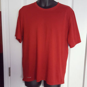 Nike Dri-Fit Short Sleeve Red T-Shirt